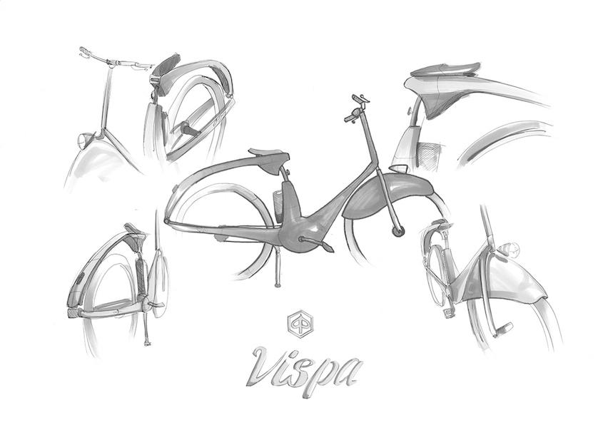 Vispa e-bike by Luca Lazzini_urbancycling_1