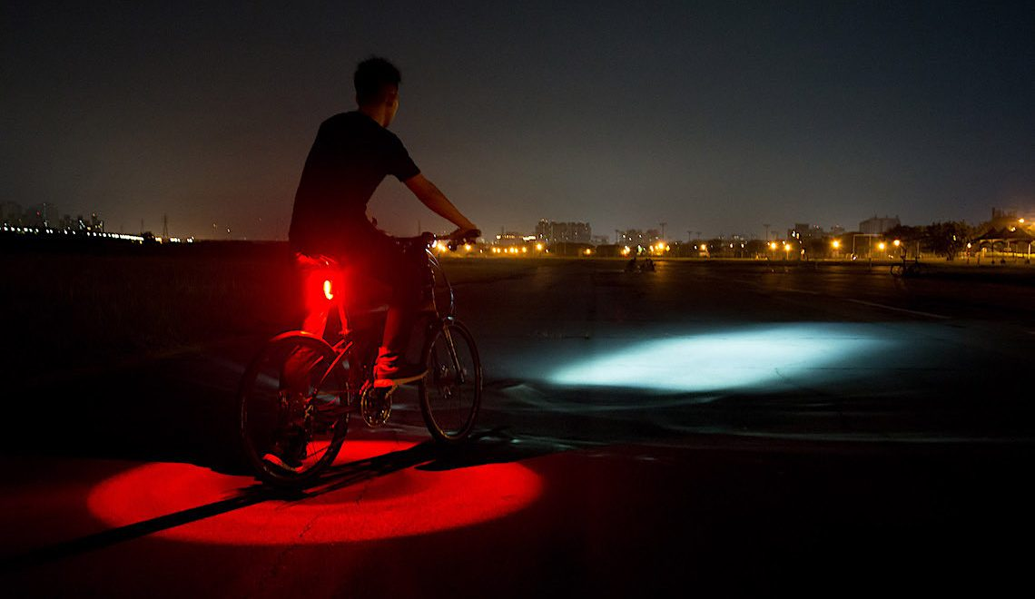 Vizy Light by Tern. Pedalare di notte ora è più sicuro