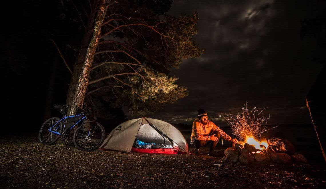 Not far from home. Bikepacking by Erkki Punttila