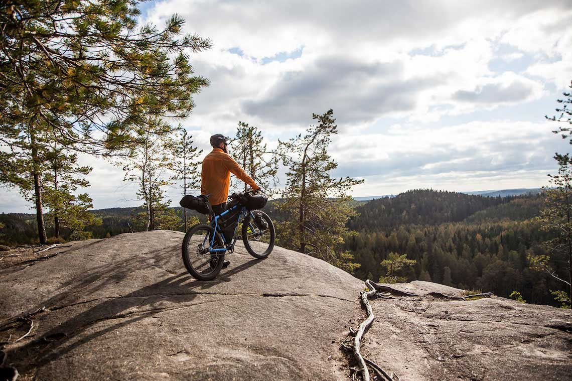 Not far from home. Bikepacking by Erkki Punttila