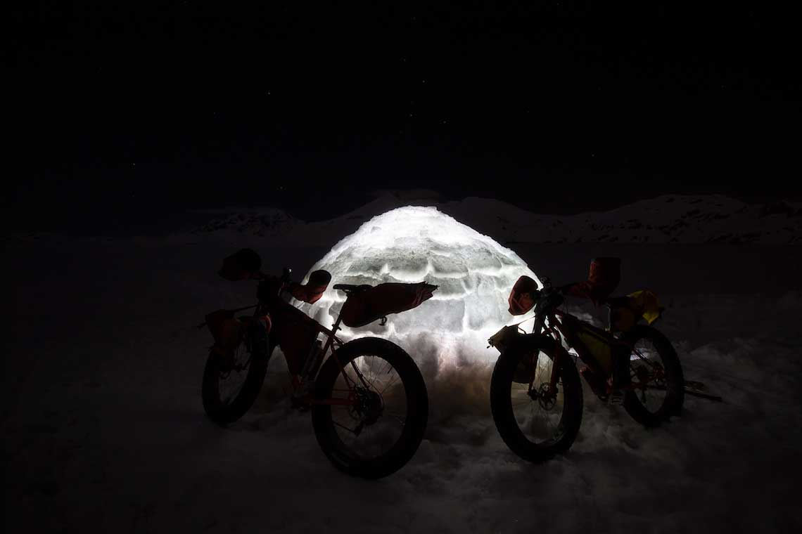 The Cold Vein. Bikepacking in inverno by Montanus