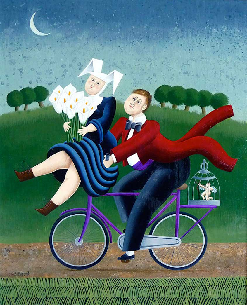 Carole Beatrice Perret paintings_urbancycling_3