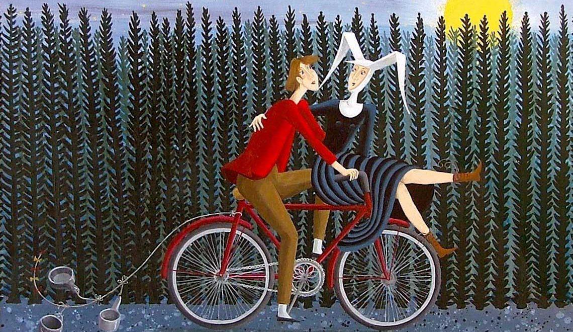 Carole Béatrice Perret. Arte in bicicletta