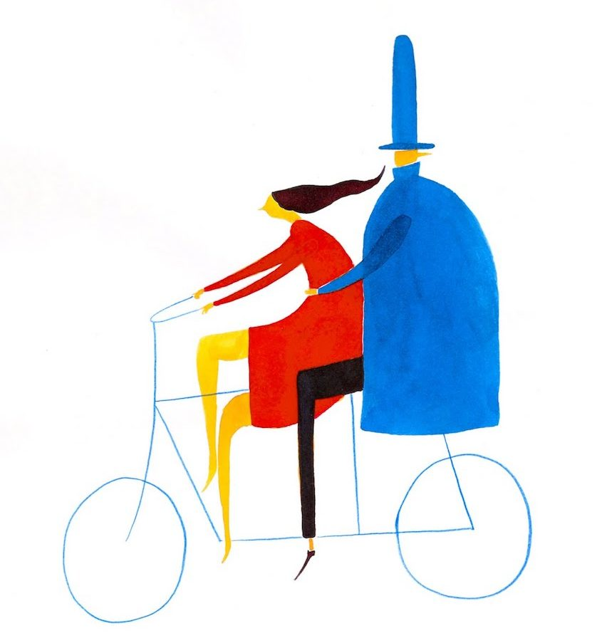 Daniel Frost illustrations_urbancycling_2