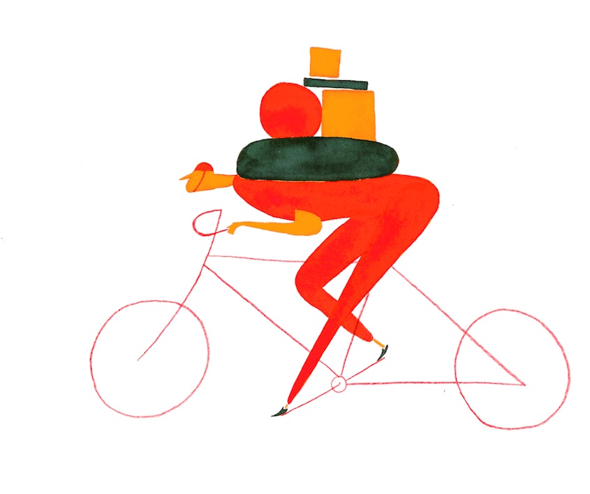 Daniel Frost illustrations_urbancycling_5