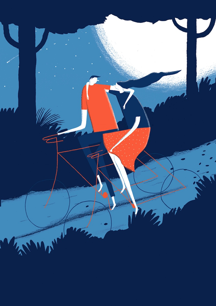 Daniel Frost illustrations_urbancycling_9