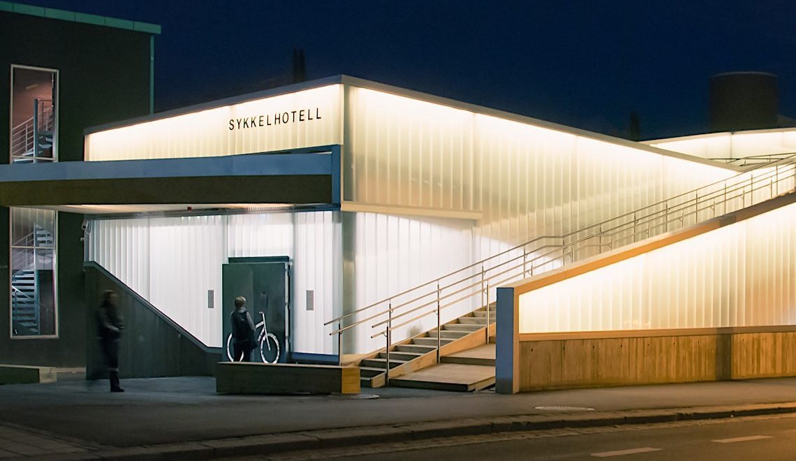 Lillestrøm Bicycle Hotel. In Norvegia, per i ciclisti