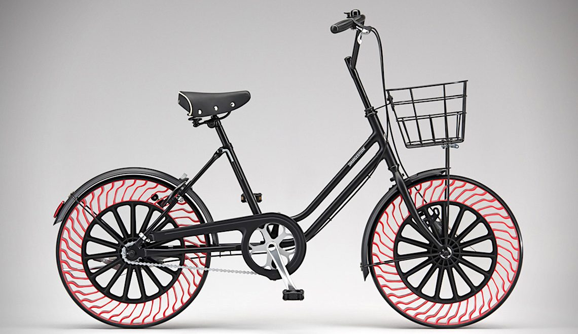 """Bridgestone """"Air Free Concept"""", ora anche per le biciclette"""