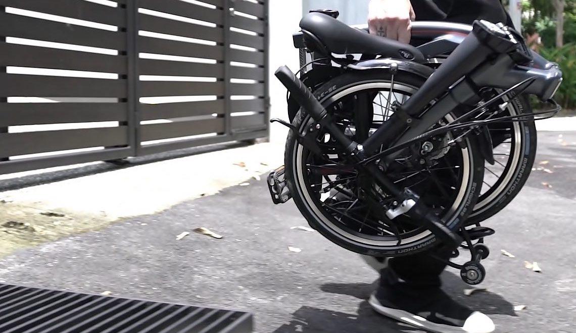 Dahon Curl. La bici pieghevole ultra-compatta