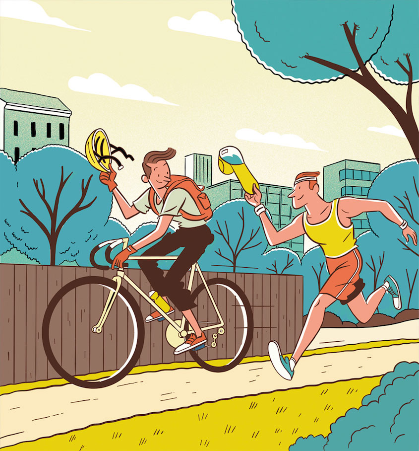Steven Scott Cycling_ Plus_illustrations_urbancycling_11
