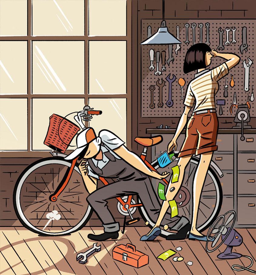 Steven Scott Cycling_ Plus_illustrations_urbancycling_5