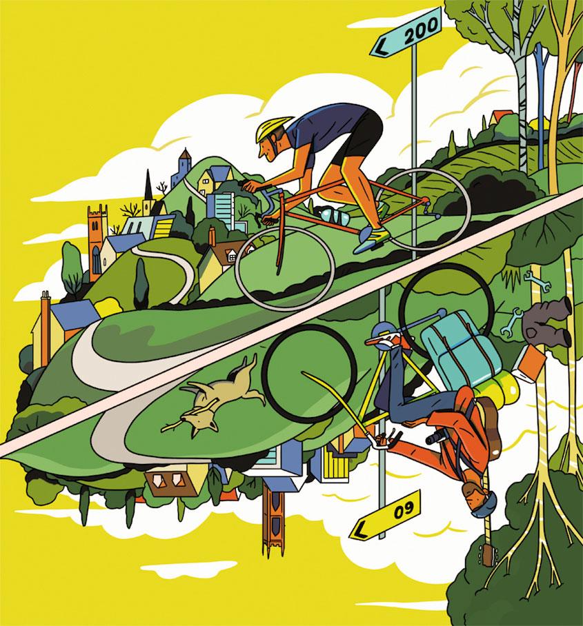 Steven Scott Cycling_ Plus_illustrations_urbancycling_7