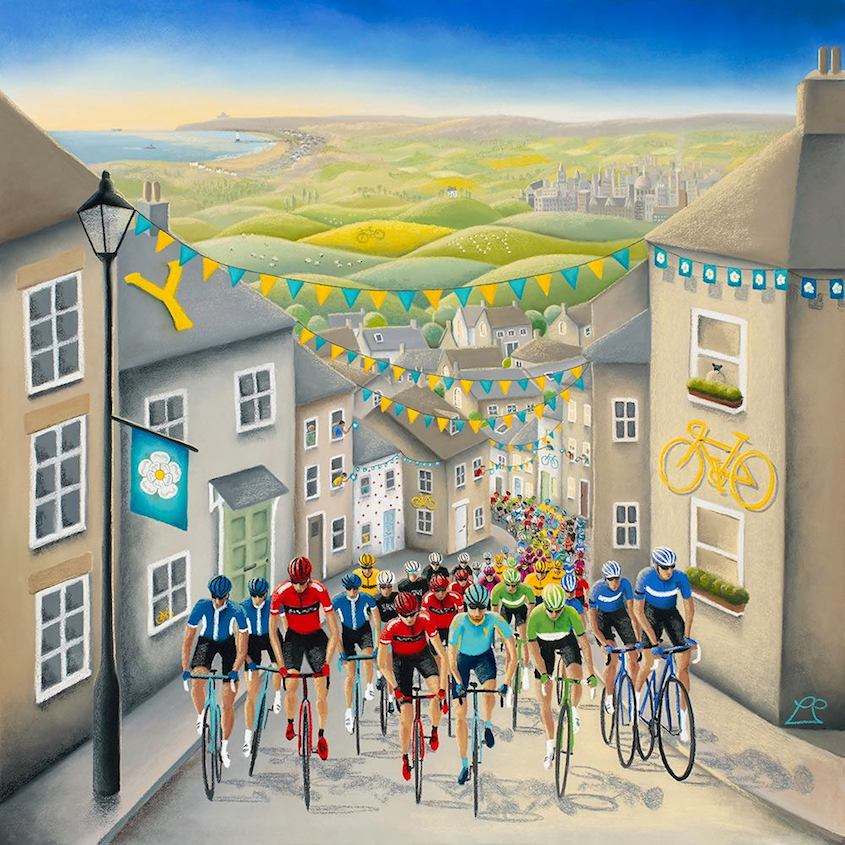Lucy Pittaway Cycling_Art_urbancycling_1