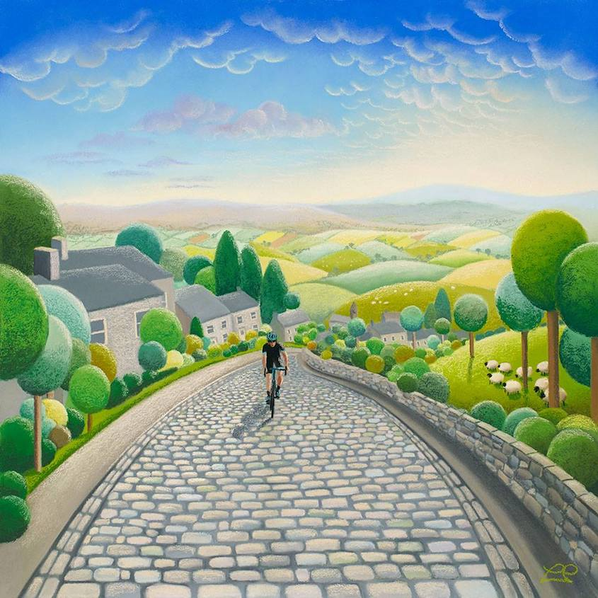 Lucy Pittaway Cycling_Art_urbancycling_4