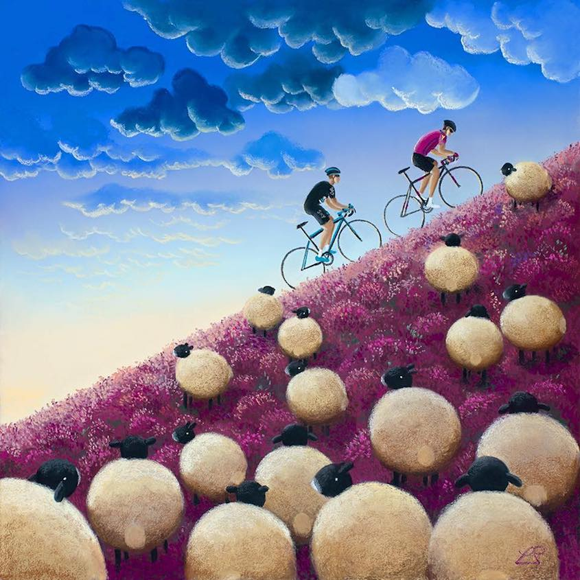 Lucy Pittaway Cycling_Art_urbancycling_5