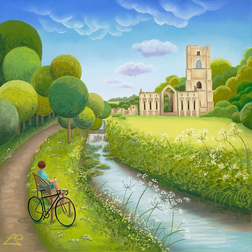 Lucy Pittaway Cycling_Art_urbancycling_7
