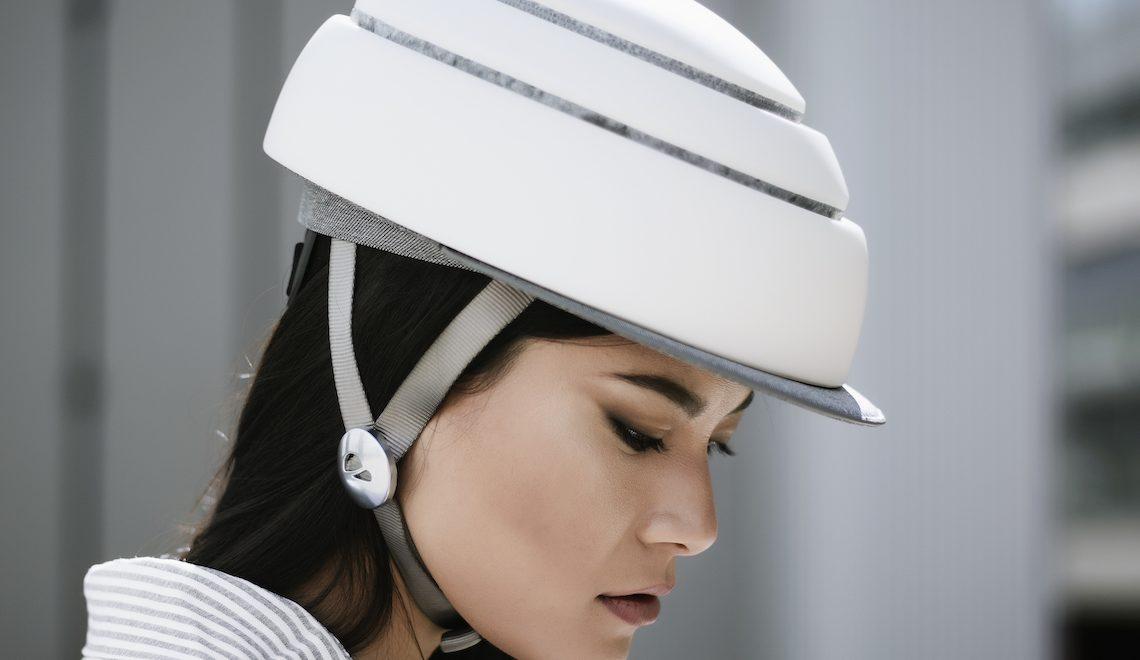 Closca Fuga. Il casco elegante, pieghevole e sicuro