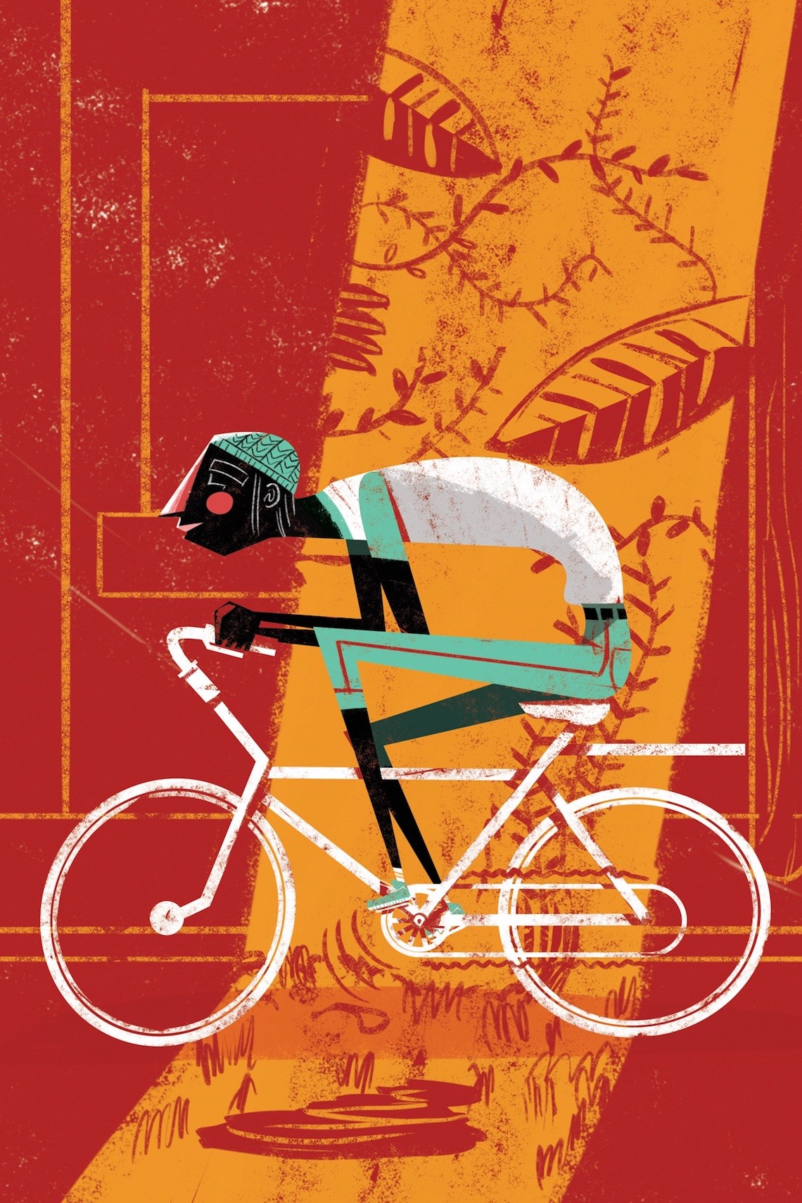 Guillo Castellanos Illustrazioni_Bike_Mèxico_urbancycling_2