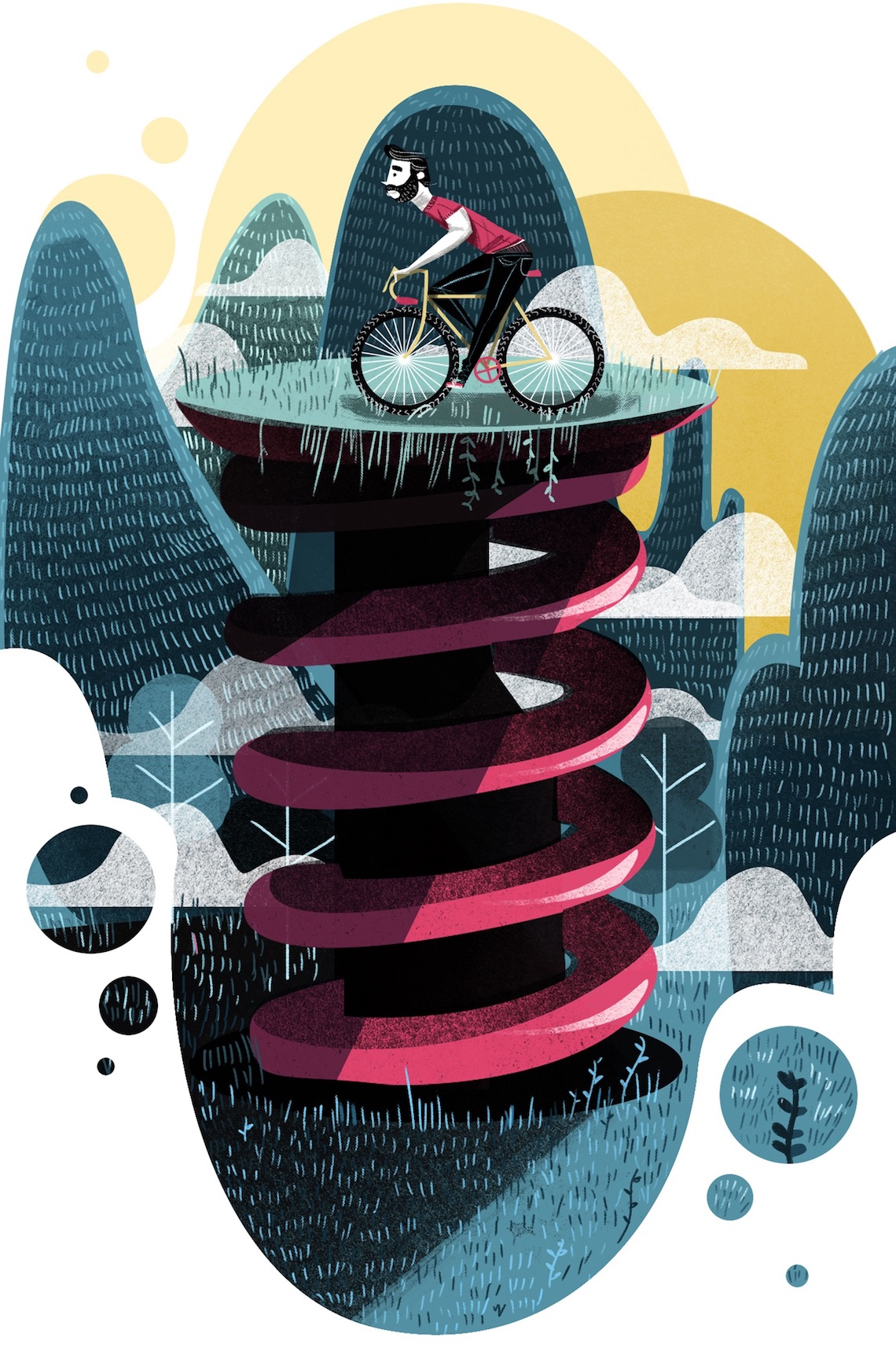 Guillo Castellanos Illustrazioni_Bike_Mèxico_urbancycling_4