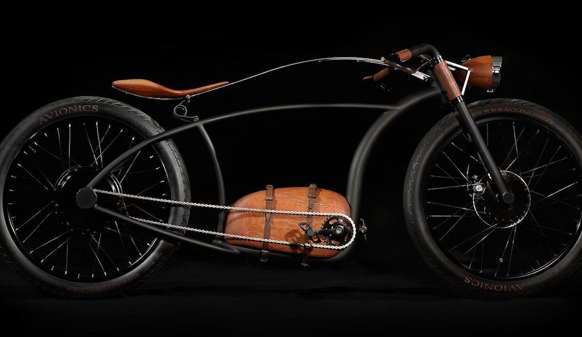 Avionics V1 e-bike. Design retrò, potenza e innovazione