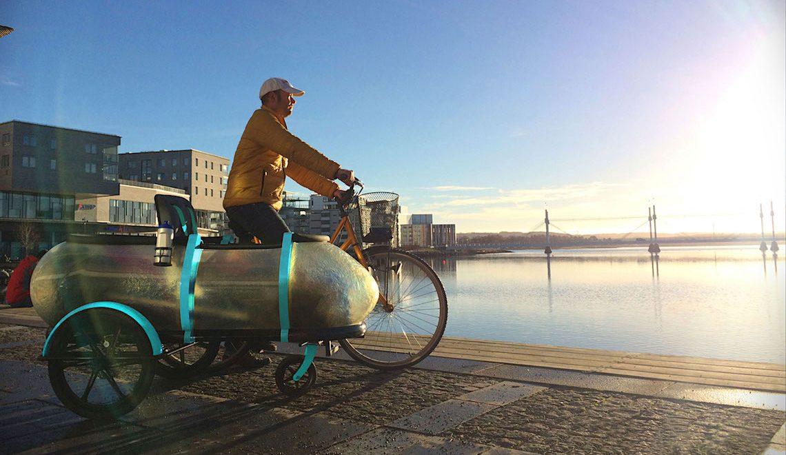 SideBuddy. Il Cargo Trailer multifunzione per le bici