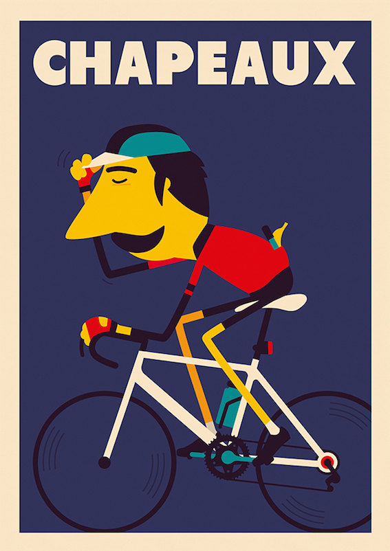 Spencer Wilson illustrations_urbancycling_5