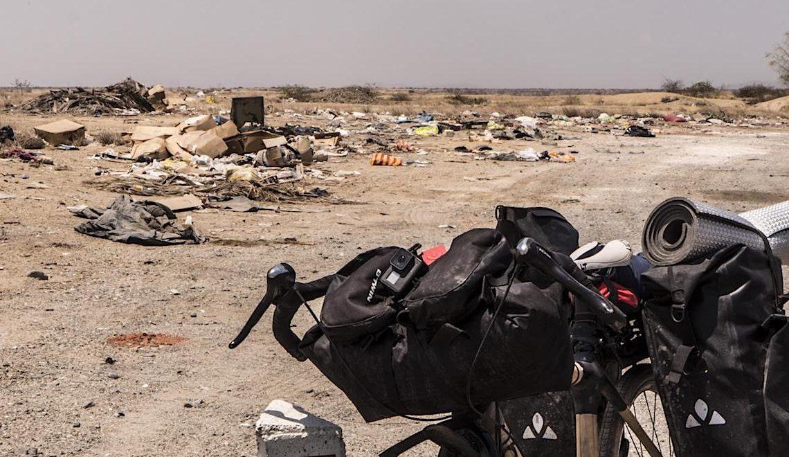 Ocean Traceless. 5000km in bici contro l'inquinamento da plastica