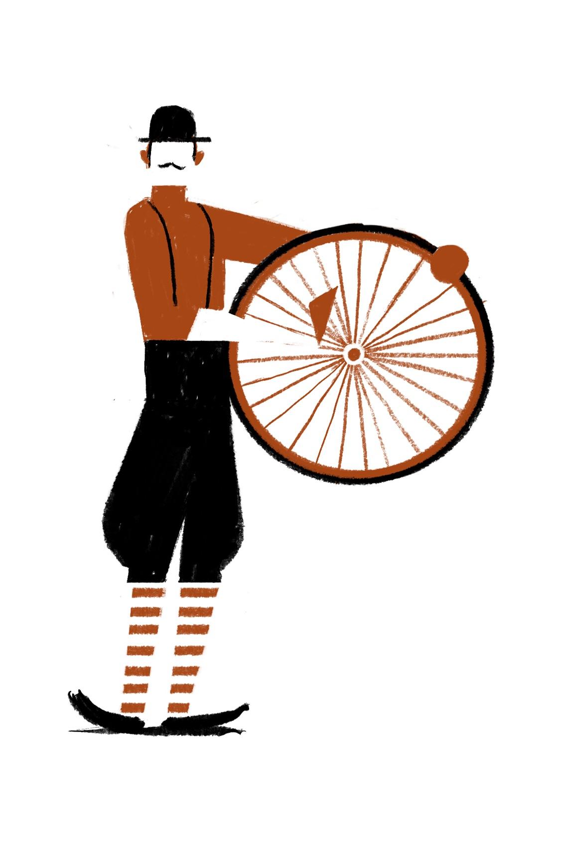 Otto Racconti in Bicicletta Riccardo Guasco_Capolettera P Tozzi_urbancycling_4