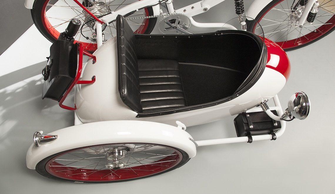 Il sidecar elettrico a pedalata assistita di Agnelli Milano Bici