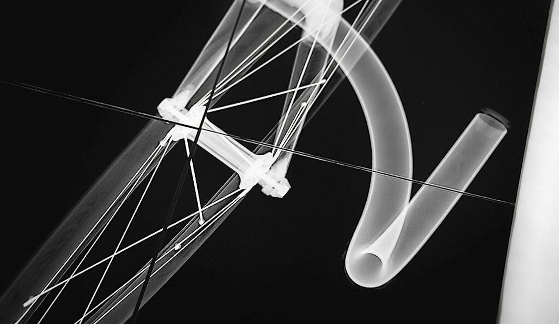 Cycling x-ray art prints. Le immagini di Paul Perret