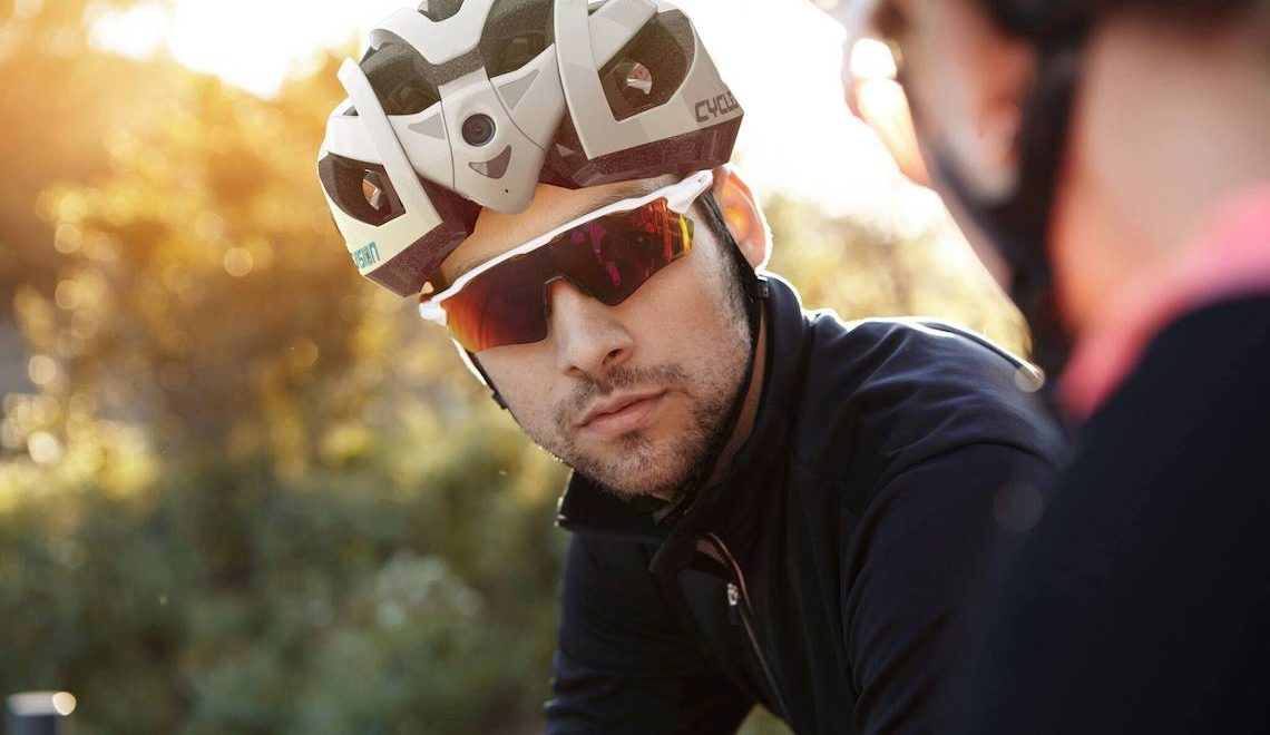 Cyclevision Edge. World's First Dual Camera Bike Helmet