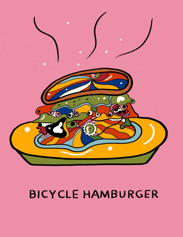 Bicycle Zine by Meijia Xu illustrations_4