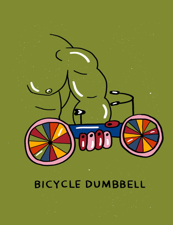 Bicycle Zine by Meijia Xu illustrations_5