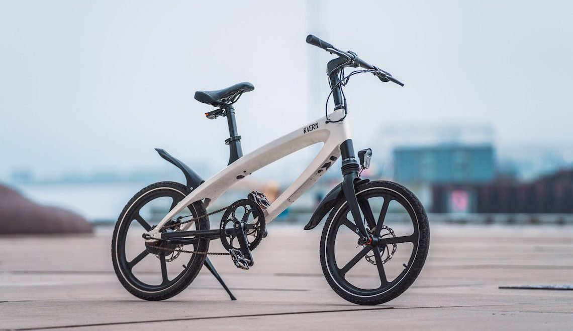 Kvaern. The new solar powered e-bike
