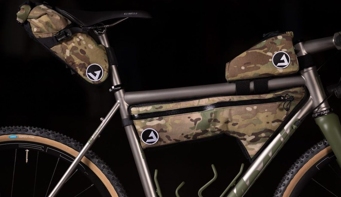 NAHBS 2018. Mosaic Cycles OD GT-2 with JPaks Bags