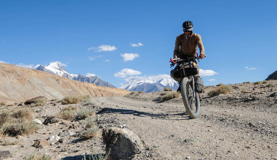 The Bartang Valley, Tajikistan. Bikepacking
