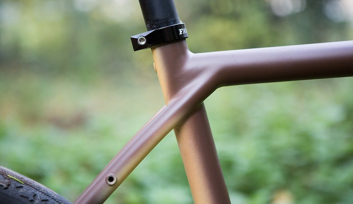 Fatta a mano da Faggin, la gravel bike MULA