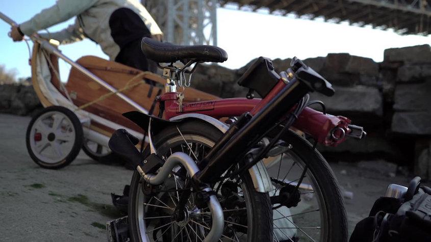 Tom Lutz Brompton_più_barca_urbancycling_2
