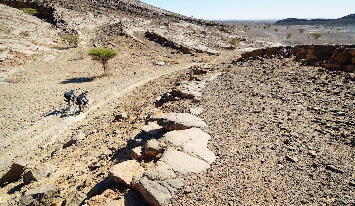Tre giorni in gravel bike nel deserto del Marocco