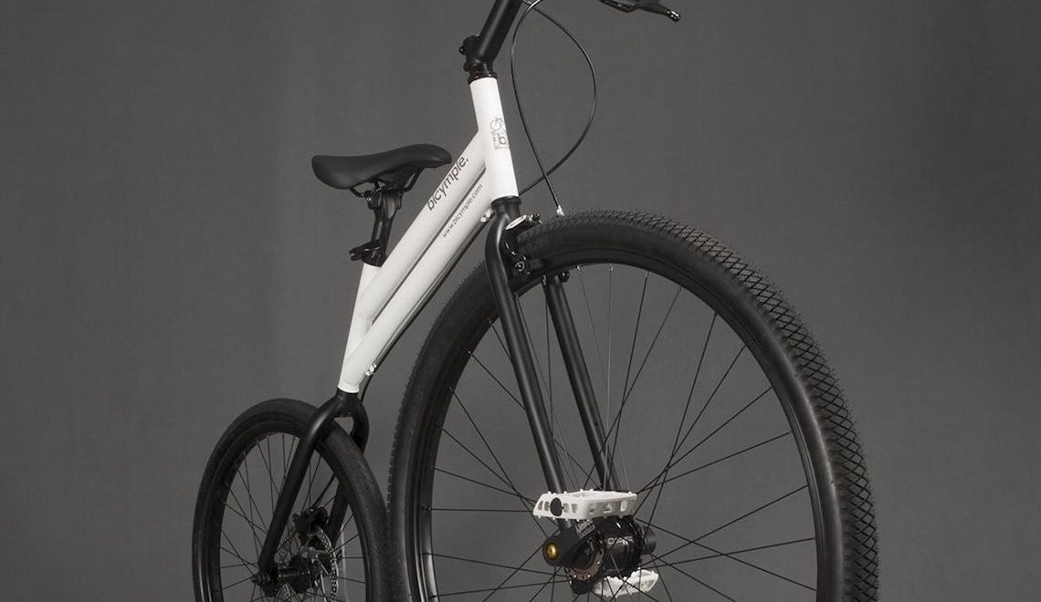 Bicymple Nuvo. Nasce la moderna Penny Farthing