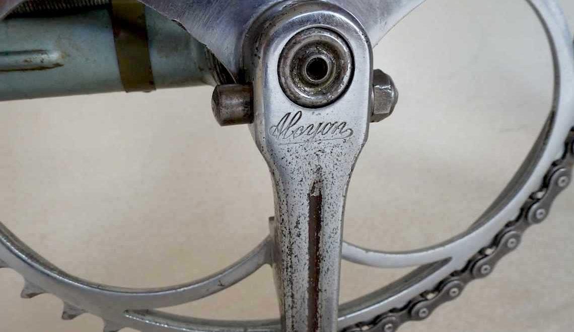 Alcyon 1936. Bicicletta da corsa d'epoca