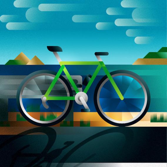 Francesco Faggiano bike illustrations_6