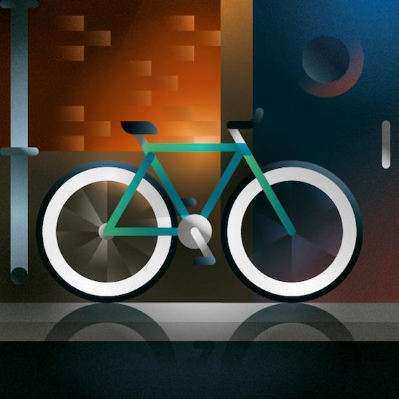 Francesco Faggiano bike illustrations_9