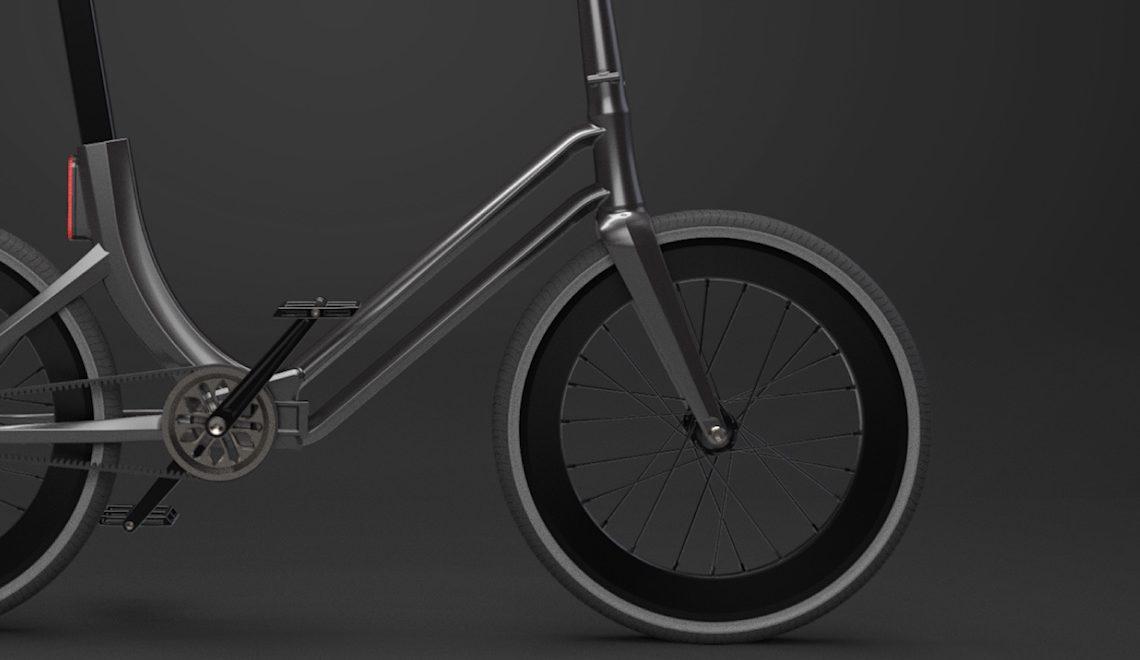 Folding Urban Bike Concept by Martynas Lagauskas