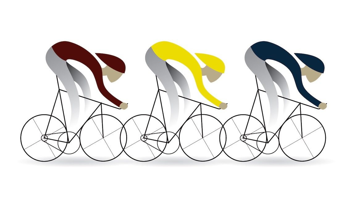 Graphic Bikes. Le delicate illustrazioni di Jo s'illustre