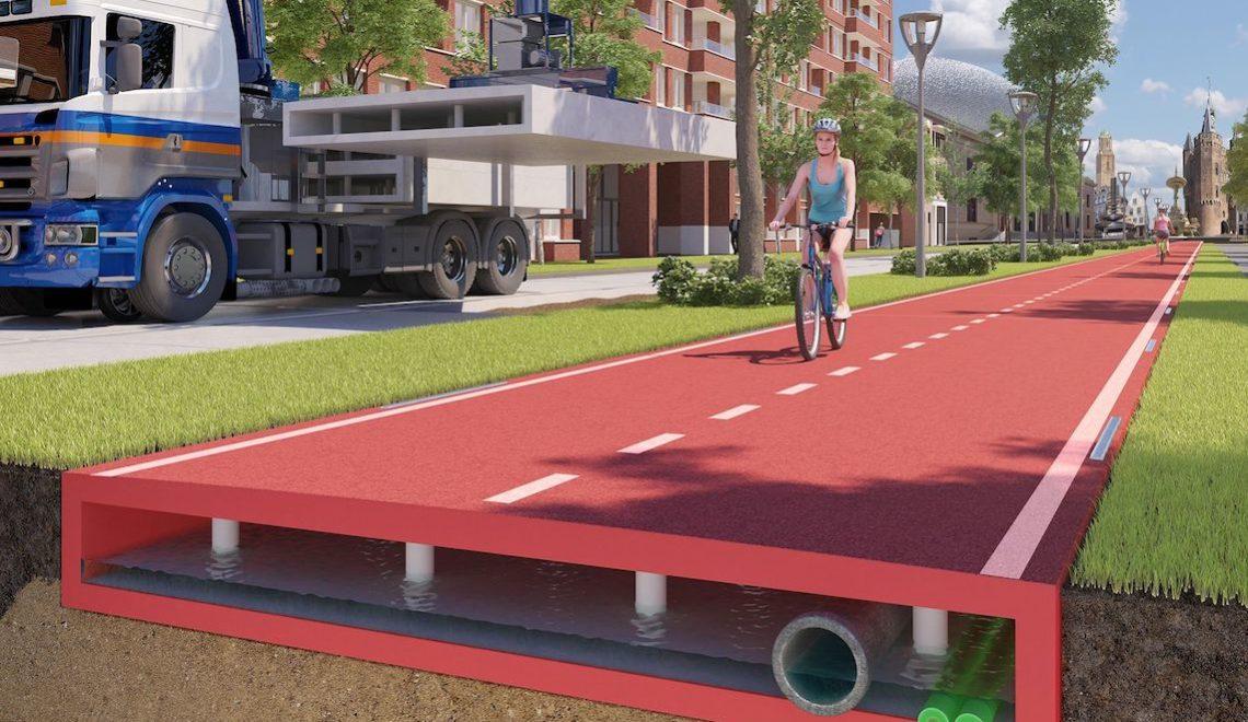 PlasticRoad pista ciclabile_urbancycling