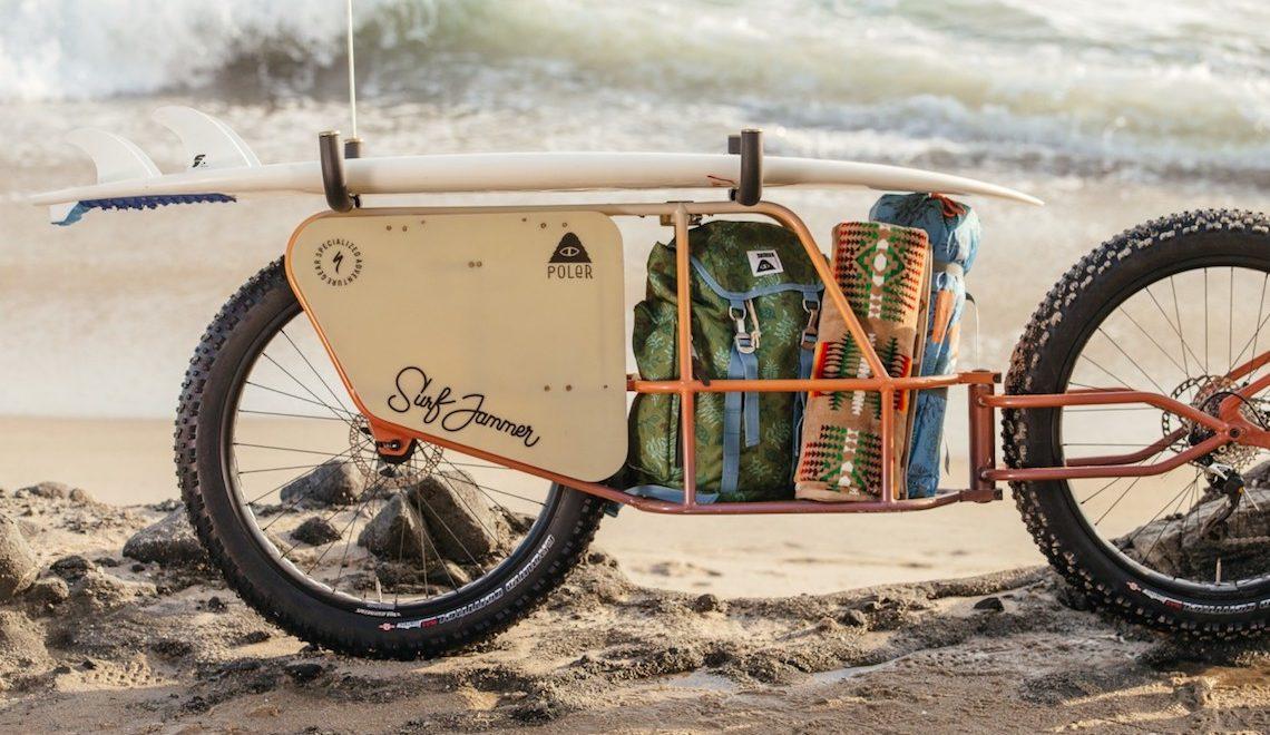 Poler Surf Jammer. La fatbike cargo perfetta per la sabbia
