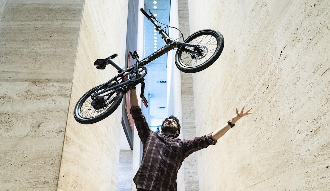 CARBO, la bici elettrica pieghevole più leggera al mondo