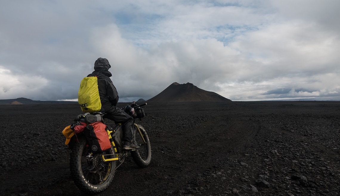 Iceland Divide in bikepacking by Montanus