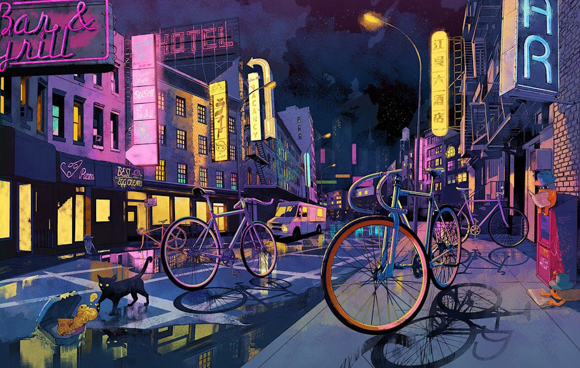 Shan Jiang illustrations_The Ride Journal_5